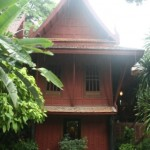 One of Jim Thompson's traditional Thai teak houses.