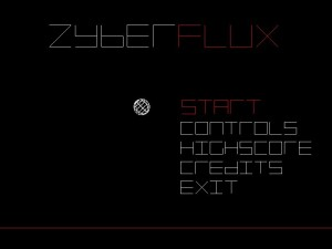 ZyberFlux Menu Screen