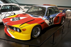 Alexander Calder BMW Art Car